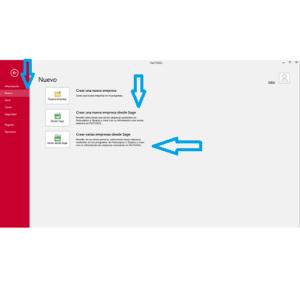 Importar empresas en Factusol desde nuevo archivo